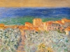Monet 1884. Burgo Marina at Bordighera