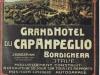 Bordighera Grand Hotel Cap Ampeglio sd chromolithographie Imp Fussli