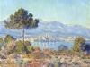 Antibes vu du plateau Notre Dame