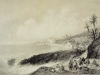 Bordighera Lithographie Chapuy, Promenade de Nice à Gènes... 1837