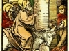 PalmSunday Jerusalem Palmes Schaufelein, Hans Leonhard, 1516