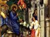 PalmSunday Jerusalem Rameaux Riches heures du duc de Berry BNF 1416 Musee Conde, Chantilly