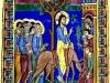 PalmSunday Jerusalem Rameaux St Albans Psalter, England, 12th c., Un. of Aberdeen