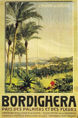 Affiche PLM Bordighera