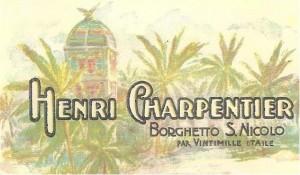 Bordighera Charpentier Garden