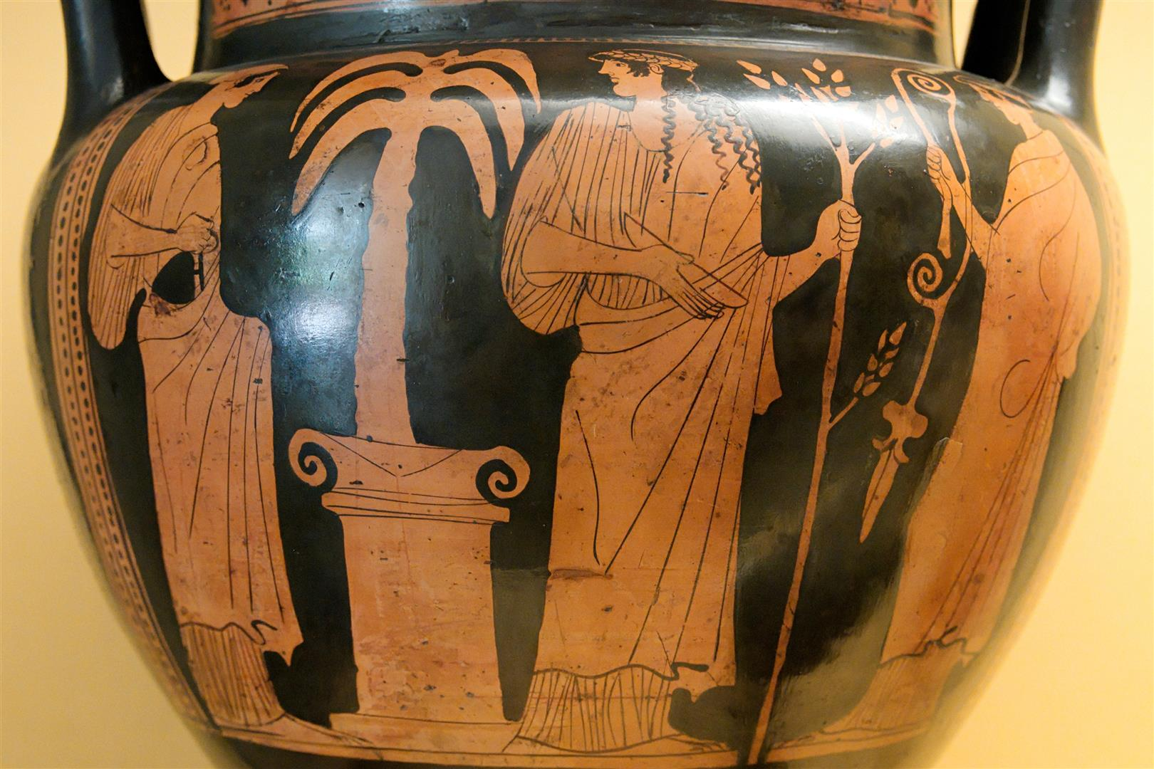 Grece Delos Apollo Artemis ca 450 BC. Musee archeologique national de Madrid