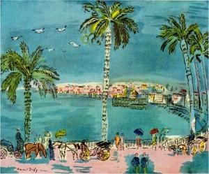 Dufy 1928, la Baie des Anges