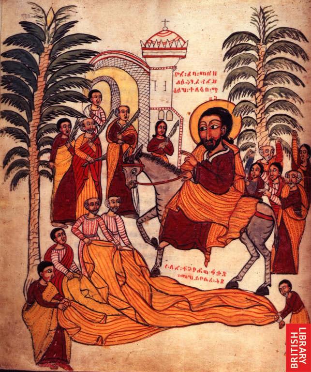 Rameaux Ethiopia Palm Sunday