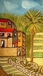 Bordighera Paysage de la palmeraie de Bordighera par Marcello Cammi, (1961)