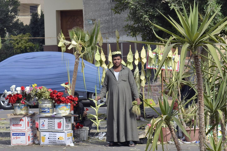 Rameaux Egypte Selling Palm Elraheb