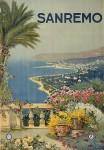 SanRemo Giardini Affiche 1920