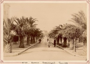 Hyeres Avenue Beauregard  1889 photo