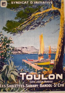 Toulon affiche Syndicat initiative