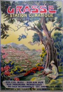 Grasse affiche Station climatique