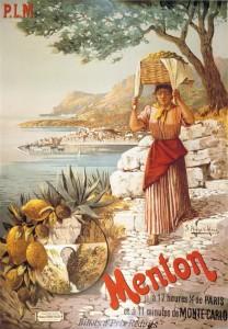 Menton affiche Hugo Alesi 1898