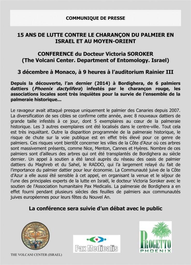 Conferences 2015 MONACO